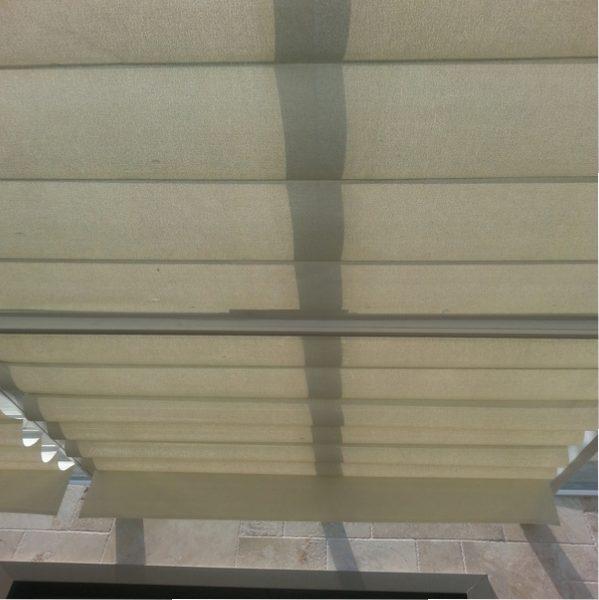motorlu tavan çatı perdesi